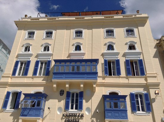 Castille Hotel: Recently upgrade facade