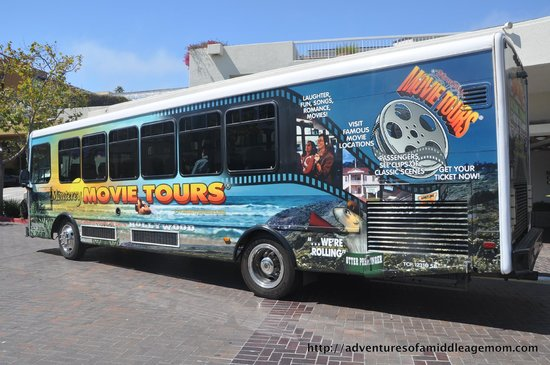"Monterey Movie Tours ""theater on wheels"""