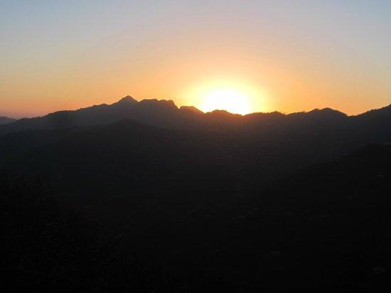Sunset at Krish Rauni