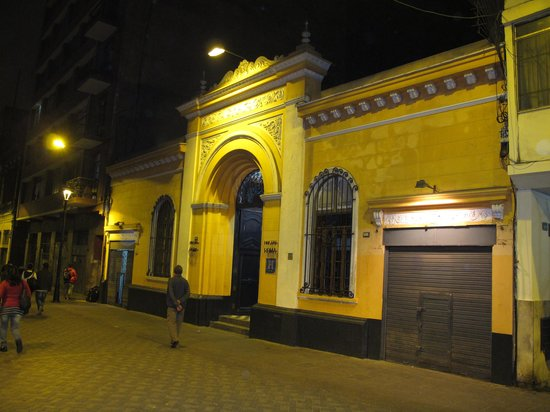 Hostal Roma: On a quiet street in the centre of Lima