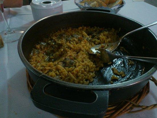 Casa Jaime: Cazuela de arroz Calabuch
