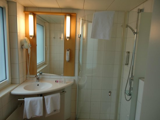 ibis Zurich Messe Airport: Bathroom