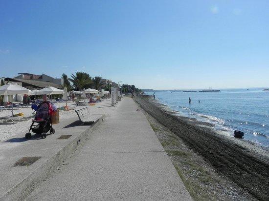 Oroklini, Cipro: Пляж