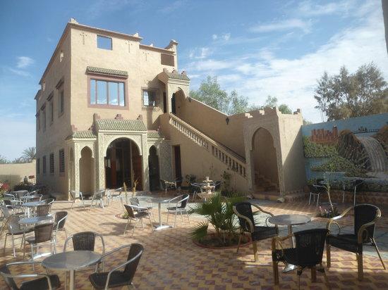 Restaurant Oasis Tafilalet: oasis tafilalte inside