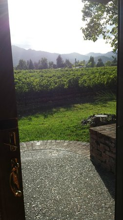 Harvest Inn by Charlie Palmer: view from our back door