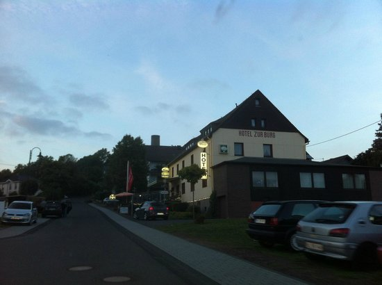 Approaching Hotel zur Burg