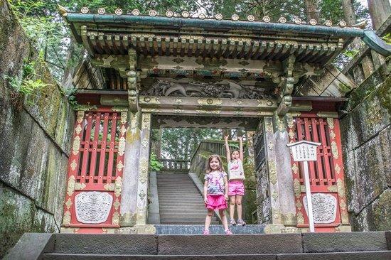 Nikko Tosho-gu: entrance to mausoleum