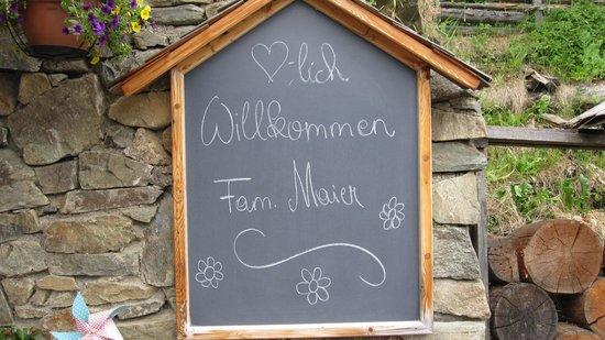 Das Almdorf - World Peace Eco Resort: Empfang