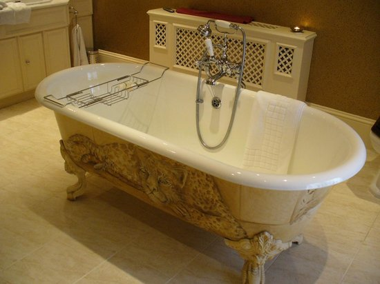 Longueville Manor: What can I say - luxury plus a fantastic shower