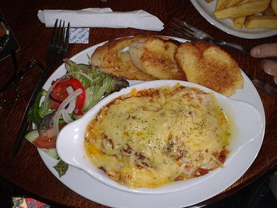 The Ship and Atlantic Bar: Lasagne