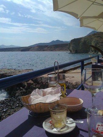 Hostal Restaurante Isleta Del Moro: Con el mar a tus pies