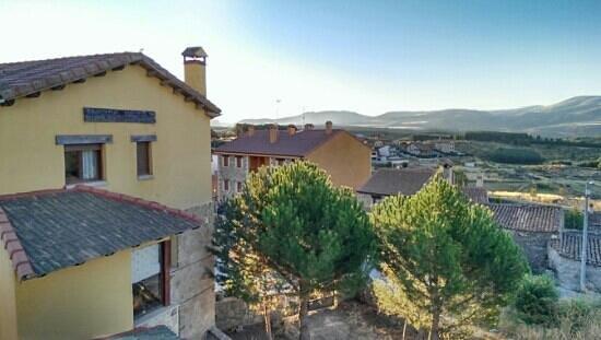Hotel Rural La Dehesilla: preciosas vistas...