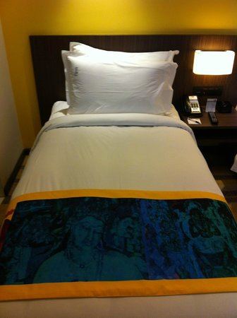 Holiday Inn Express Ahmedabad: The Bedroom's View (2)