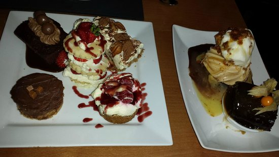 Black Sheep Bistro: Dessert sharing platter for 2!