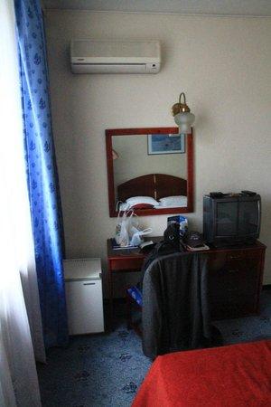 Minerva Hotel : Zimmerdetail