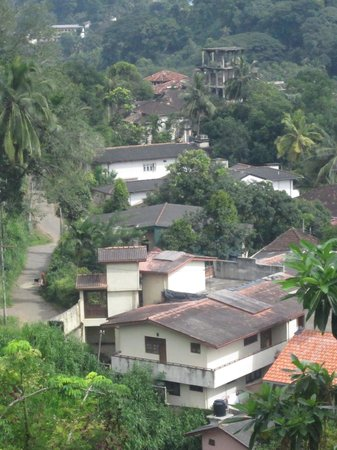Kandy View Hotel : view from the hotel