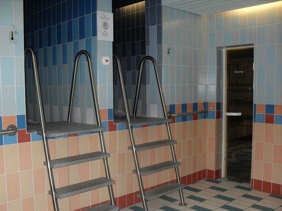 Sunstar Alpine Hotel Arosa: l'espace sauna de la wellness