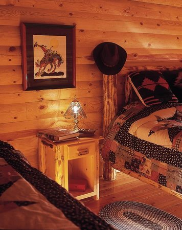 Forrester's Bighorn River Resort: Our guest cabins are true Montana luxury
