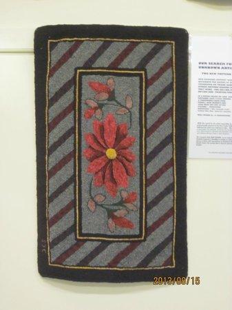 Hooked Rug Museum of North America: Beautiful
