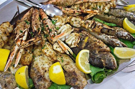 Ristorante Regina : grilled seafood
