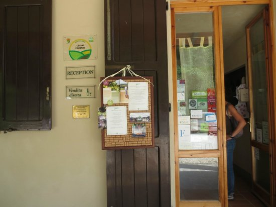 Agriturismo Cesani : Entrance