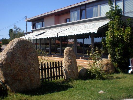 Hotel Peregrina: Terraza comedor