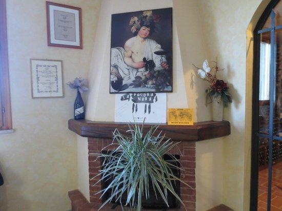 Agriturismo Cesani : foyer