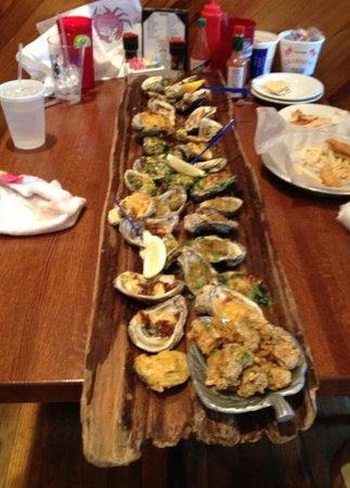 Santa Rosa Beach Fl >> Stinky's Oyster Log - Picture of Stinky's Fish Camp, Santa Rosa Beach - TripAdvisor