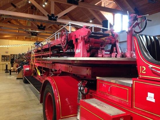 Pennsylvania National Fire Museum: ladder truck