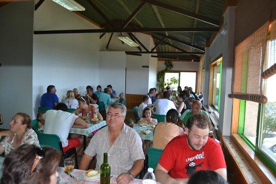 Camping 1ª O Muiño - Bungalow Park: Restaurante