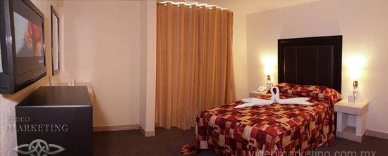 Posada Guadalupe Hotel: Sencilla Matrimonial con balcon