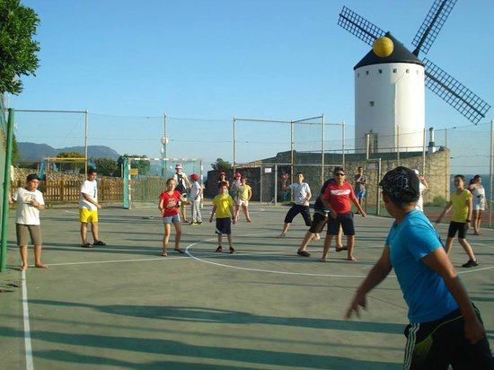 Camping 1ª O Muiño - Bungalow Park: Pista de Futbol Sala