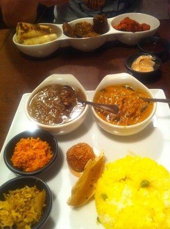 Spice Box: Sri Lankan curry set.