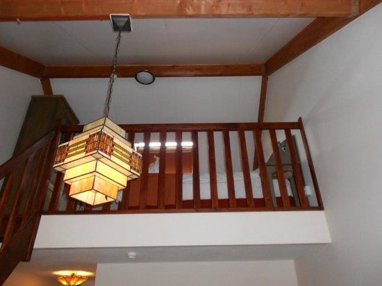 Hotel Dolores: zicht op de verdieping