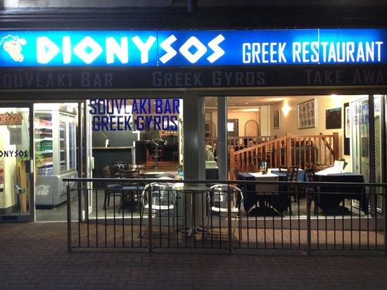 Dionysos Greek Restaurant: Dionysos restaurant