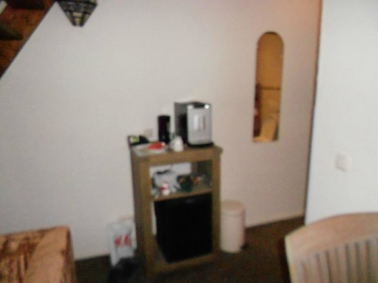 Hotel Dolores: espressoapparaat