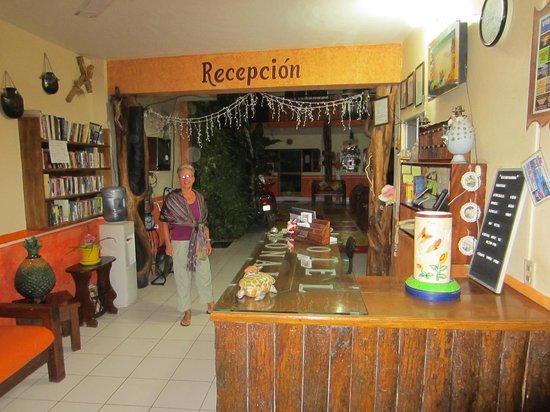 Hotel Tonala: The Lobby