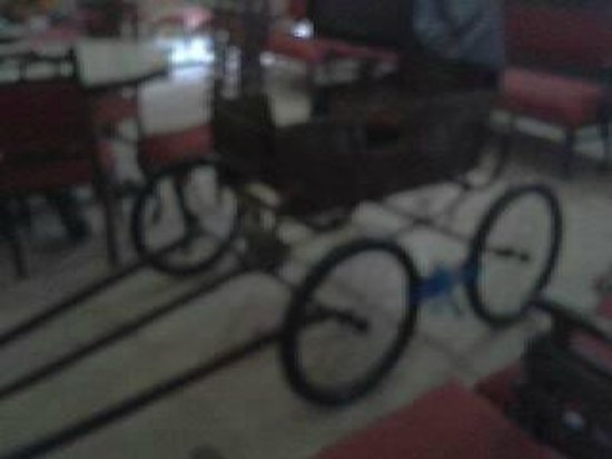 Prag Mahal Palace: A pram for the prince and princesses