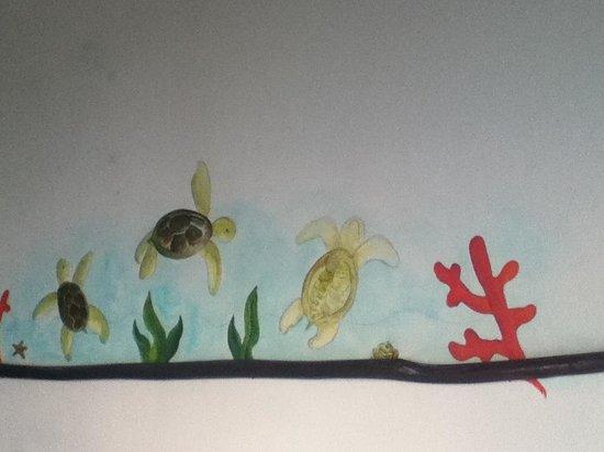 Hotel Playa Kin Ha : Room decoration