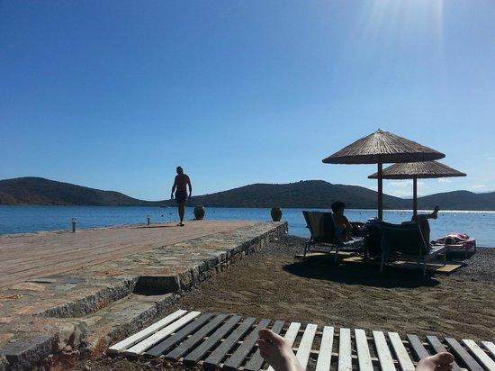SENTIDO Elounda Blu: Beach View