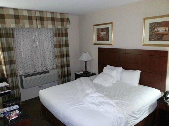 Best Western Plus Arena Hotel : Das Bett ist riesengroß
