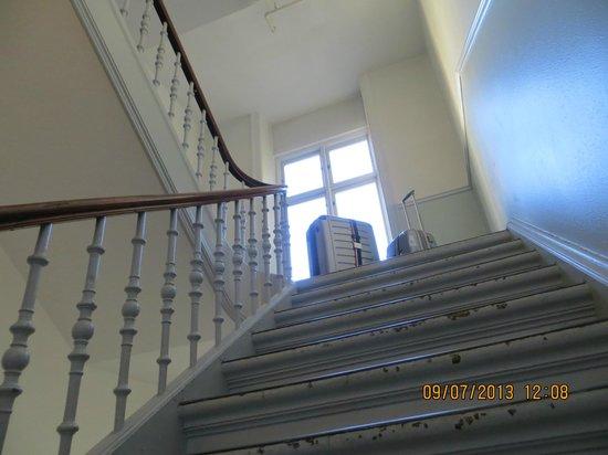 Hotel Nora CopenHagen : Escadaria