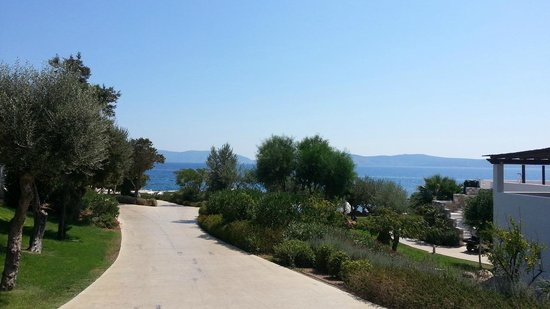 Barcelo Hydra Beach Resort: direction le SPA