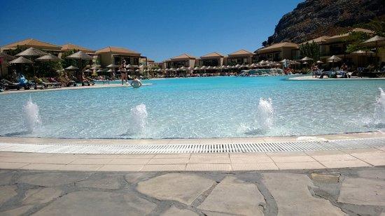Atlantica Aegean Park : Main pool