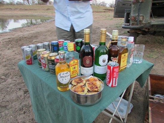 Honeyguide Tented Safari Camps: Sundowner!!