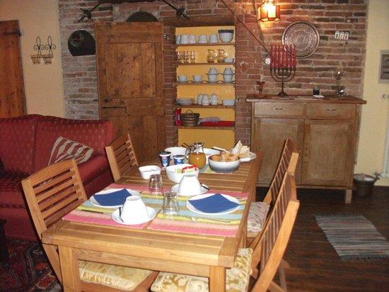 La Valle dell'Oca: sala colazione