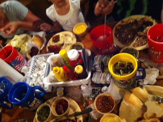 Lambert's Cafe III: All the food