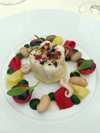 Belmond Le Manoir aux Quat'Saisons: art on a plate