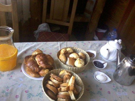 Cabanas Akermann : Desayuno