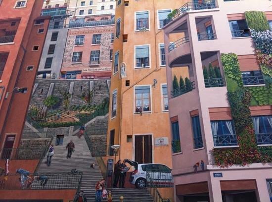 Lyon, Frankreich: muro